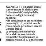 Elezioni CIZ 2015