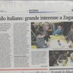 Asilo italiano; grande interesse a Zagabria
