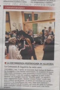 7.godišnjica Zajednice Talijana u Zagrebu