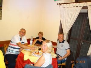 Ragusa - večera